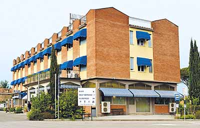 Hotel La Pace Esterno